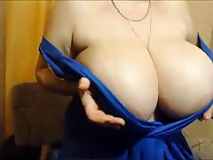 BBW, Big Boobs, Mature, Russian, Webcam