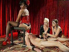 Mistress, Femdom, Femdom, Stockings, CFNM