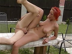 Amateur, Anal, German, Outdoor