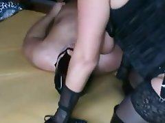 BBW, Face Sitting, Femdom, German