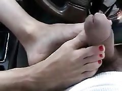 Amateur, Foot Fetish, Masturbation, Mature
