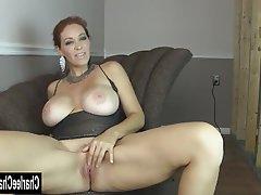 Big Boobs, Brunette, Masturbation, Mature, MILF