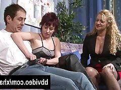 Blowjob, German, Mature, MILF, Threesome
