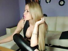 Amateur, Big Boobs, Blonde, Russian, Webcam