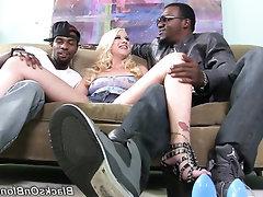 Anal, Big Cock, Blowjob, Cumshot, Ebony