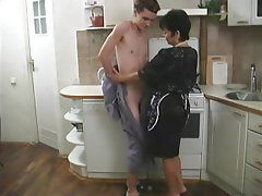 Asian, Mature, Old and Young, Russian