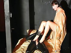 German, Cunnilingus, Latex, Mature