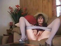 Amateur, Brunette, Masturbation, Mature, Webcam