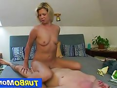 Mature, MILF, Czech, Blonde