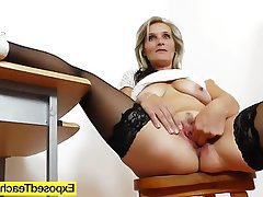 Close Up, Masturbation, Mature, MILF