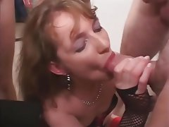 Cum in mouth, Gangbang, Group Sex