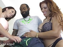 Interracial, Mature, MILF, Threesome