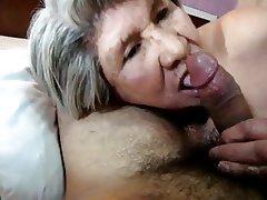 Blowjob, Granny, Mature