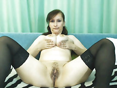 Mature, Russian, Webcam