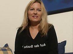 German, Blonde, Masturbation, Mature, MILF