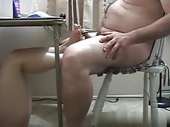 Blowjob, BBW, Mature, Footjob