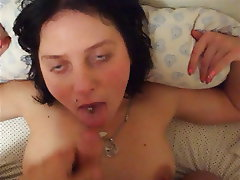 Amateur, Cum in mouth, Cumshot