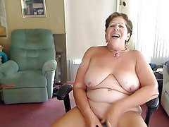 Big Boobs, Granny, Masturbation, Boobs