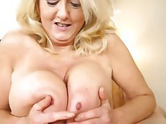 Blonde, Mature, Big Boobs, MILF