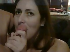 Blowjob, Mature, Swallow