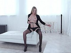 Blonde, Dildo, Boobs, Masturbation