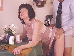 Cumshot, Lingerie, Mature, MILF, Vintage