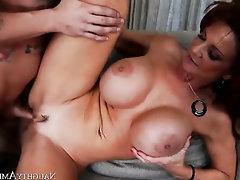 Asian, Big Cock, Cumshot, Mature