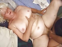 BBW, Blonde, Granny, Mature, Old and Young