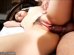 Asian, Blowjob, Cumshot, Hairy, Teen