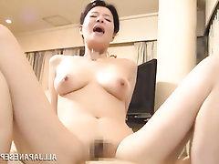Asian, Blowjob, Creampie, Mature, MILF