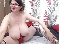 Giant horny bbw fucks dick and yells part 2 3