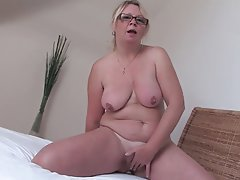 BBW, Hairy, Masturbation, Mature