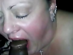 BBW, Cuckold, Facial, Interracial