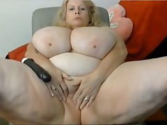 BBW, Big Boobs, Big Butts, Blonde, Masturbation