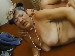 Granny, Interracial, Mature, Old and Young