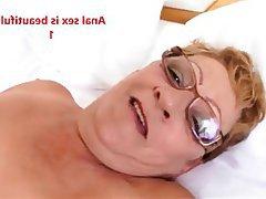 Granny, Anal, Blowjob