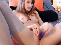 Amateur, Masturbation, Skinny, Small Tits