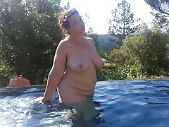 BBW, Big Boobs, Big Butts, Mature, Outdoor