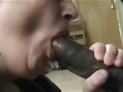 BBW, Blowjob, Interracial
