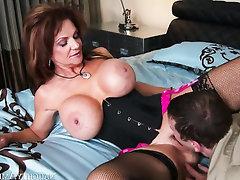 Asian, Big Ass, Big Tits, Mature