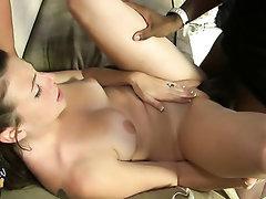 Big Tits, Blowjob, Creampie, Ebony, Glasses