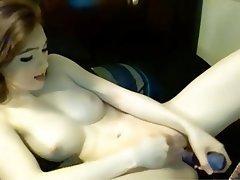 Amateur, Orgasm, Redhead, Webcam