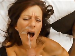 Close Up, Cumshot, Blowjob, Mature